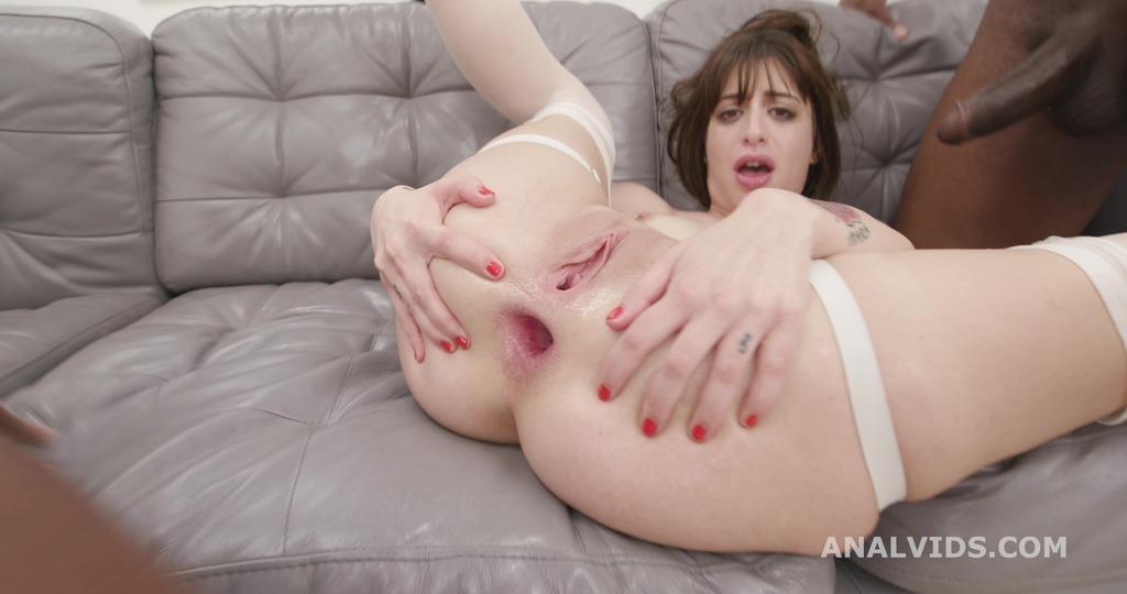 Silvia Soprano Vs 3 BBC with Balls Deep Anal, DAP, Gapes, Creampie and Swallow GIO1690