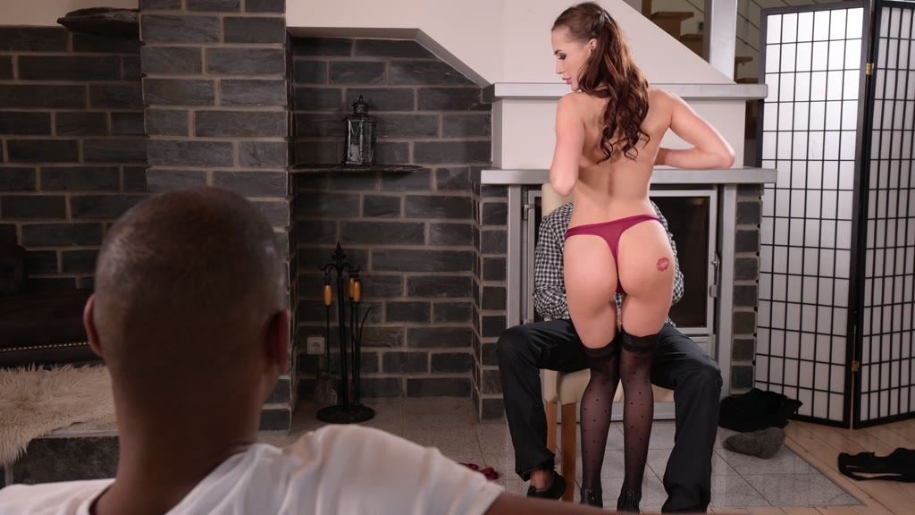 Sexy Spinner Nicole Love DP'd by BBCs as Bachelor Party Gift GP1972