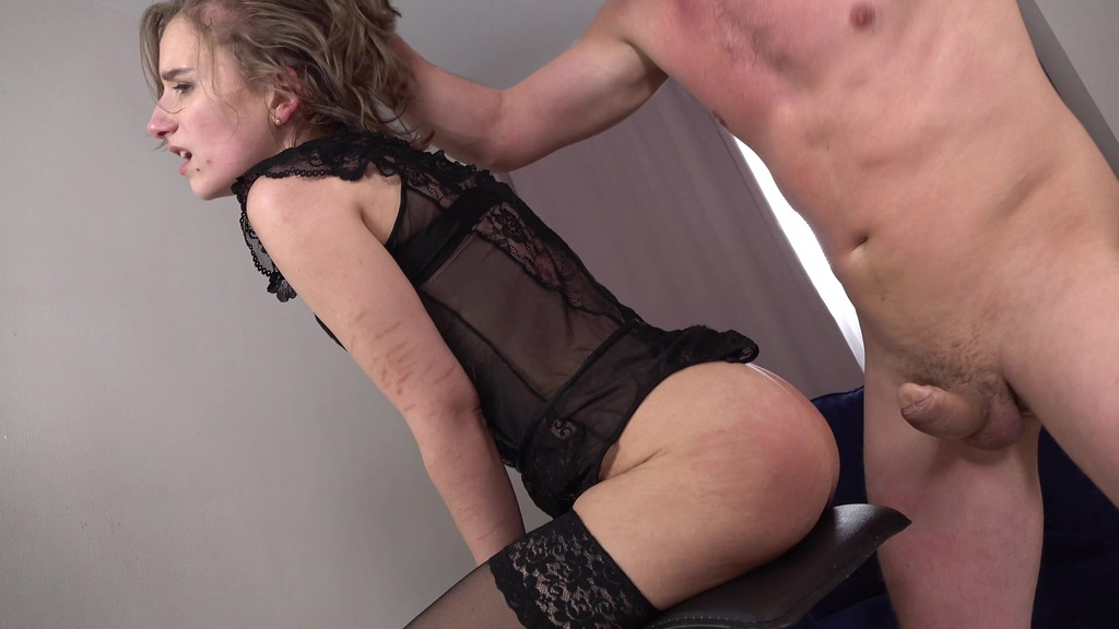 Anastasia Mistress Hard Fucked in The Ass + Spanking + Slapping + Anal Squirt + Big Anal Gape VK035