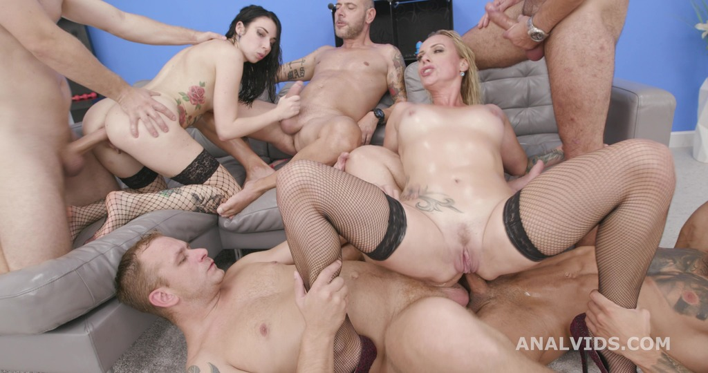 Brittany Bardot Vs Giada Sgh #2 5on2 Balls Deep Anal, DAP, Buttrose, Squirt...