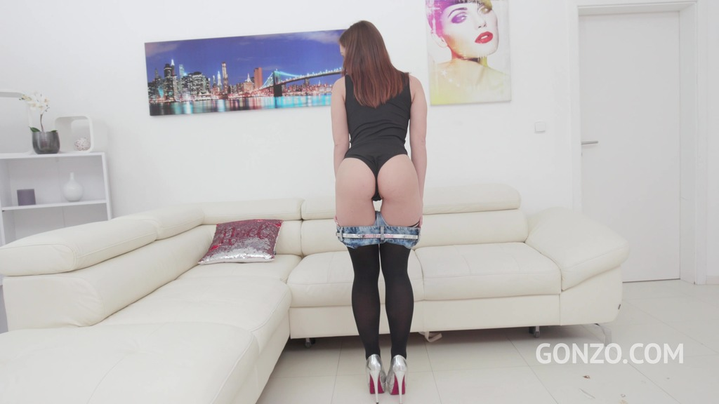 Mina assfucked 3on1 with DP & DVP SZ2353