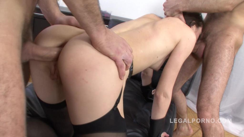 Aspen double anal for kinky slut NR262