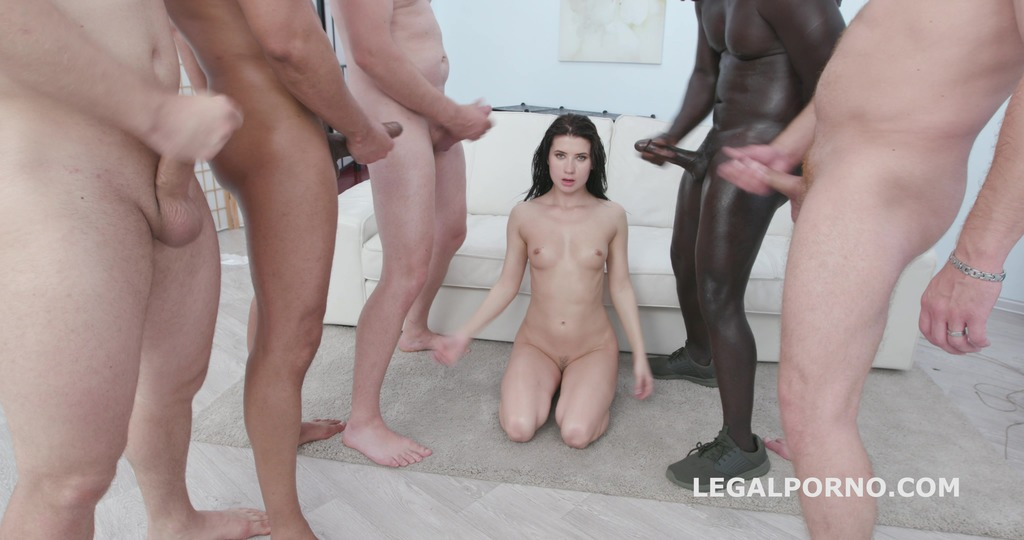 Nicole Black is Indestructible #2 She tests her limits with 10 guys & two DAP sessions GIO1098