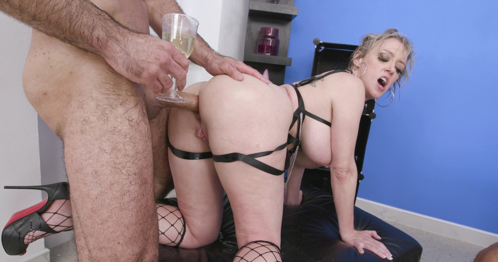 Pee and Roses, Dee Williams, 2on1, BWC, ATM, Balls Deep Anal, DAP, Big Gapes, ButtRose, Pee Drink, Cum in Mouth, Swallow GIO1946