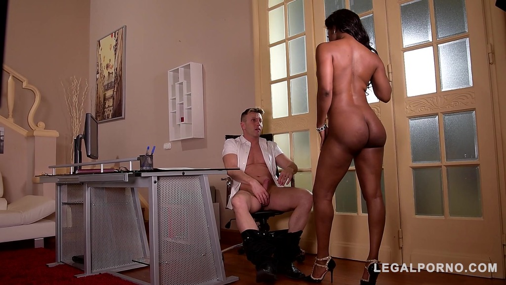Ebony Milf Jasmine Webb gets her tight pink crammed with massive veiny cock GP767