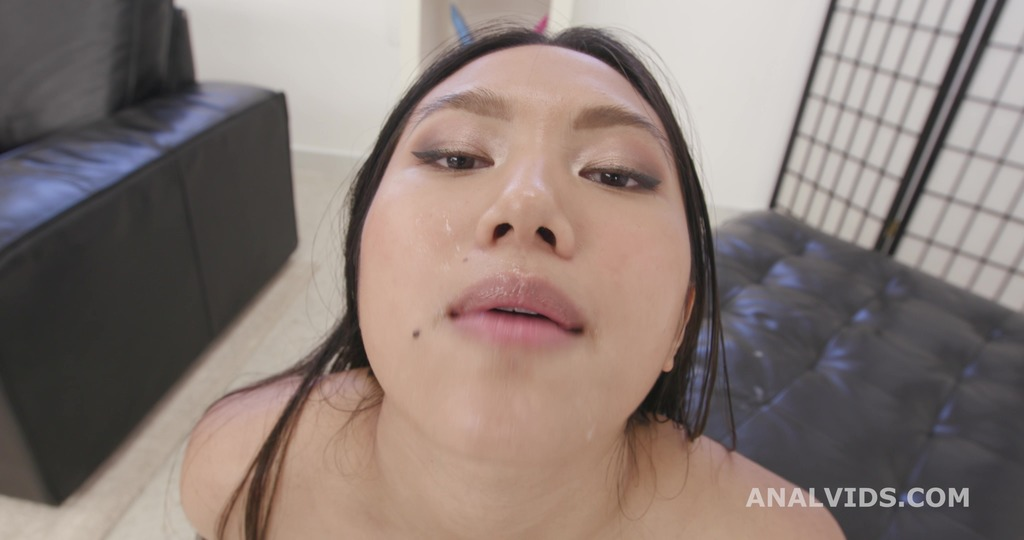 DAP and Pee, May Thai, 4on1, ATM, DAP, Gapefarts, Gapes, Pee Drink, Squirt, Creampie Swallow, Cum in Mouth, Swallow GIO1879