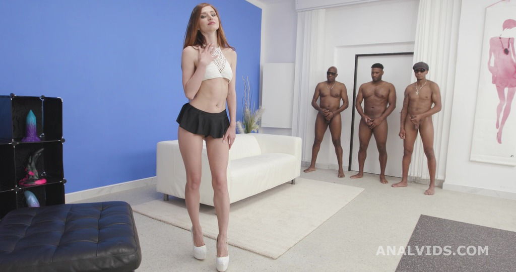 Black Meat, Lina Arian, 3on1, BBC, ATM, Balls Deep Anal, DAP, Gapes, Creampie Swallow, Cum in Mouth GIO1878