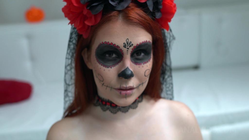 Halloween coming 4on1 Kaira Love First DAP, DP, Anal Balls Deep, Huge Facial NF045