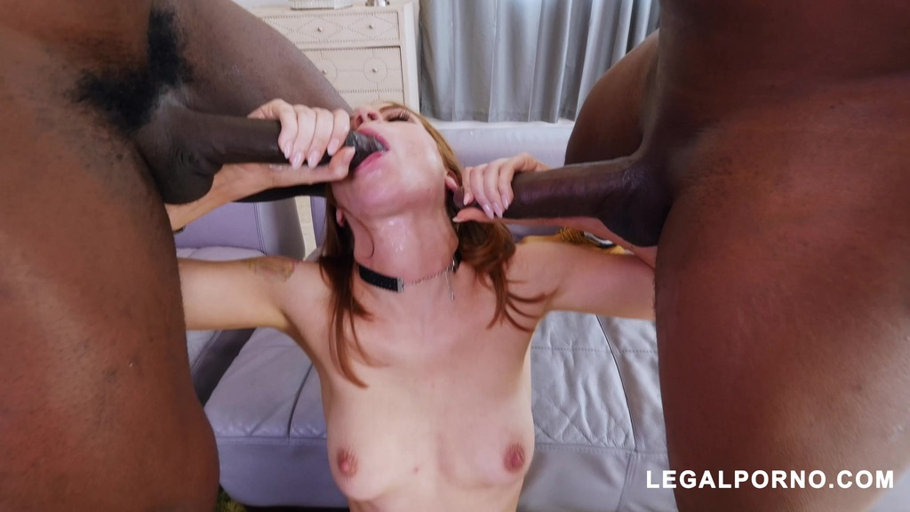 Red Head Spinner Pepper Hart Takes Double BBC Dosage AB014