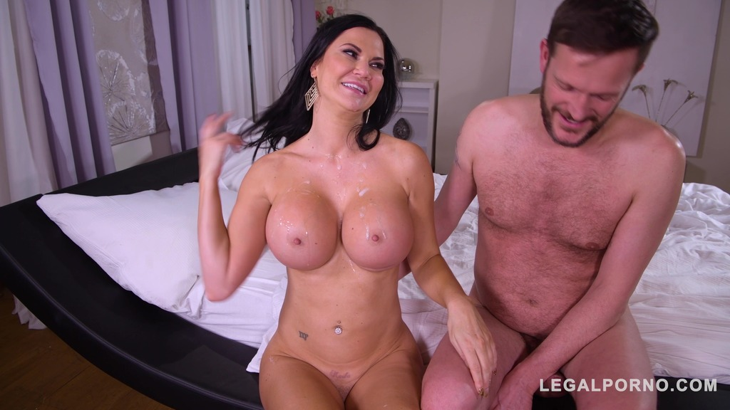 Busty wife Jasmine Jae goes for double penetration action with Doc & hubby GP862
