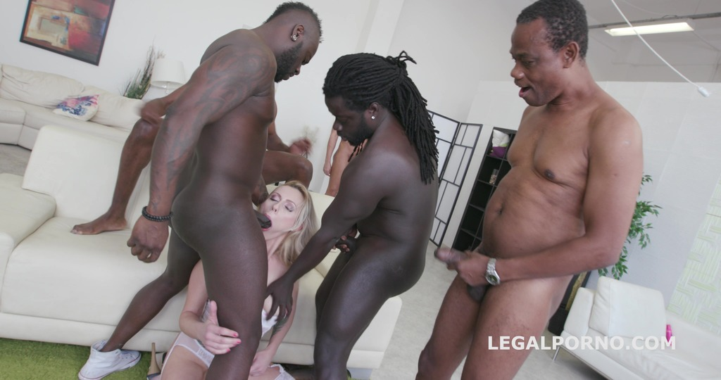 Black busters Barbarian Edition 6on1 Brittany Love total destruction with Ball Deep Anal /DAP /Manhandle /Dt /Double Bj GIO318