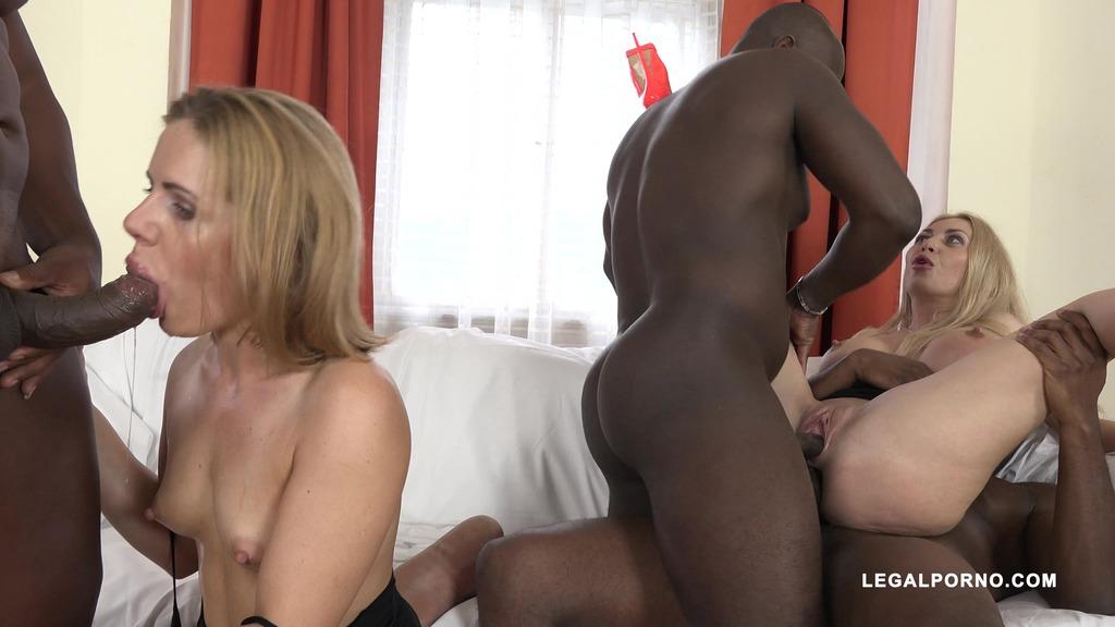Sasha Zima & Isabella Clark - whore games and anal pounding (Part 2) IV094