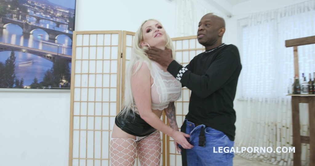 2on1 DP and DAP breaking with Louise Lee Short DAP, Intense DP, Manhandle, Creampie and Swallow GL043