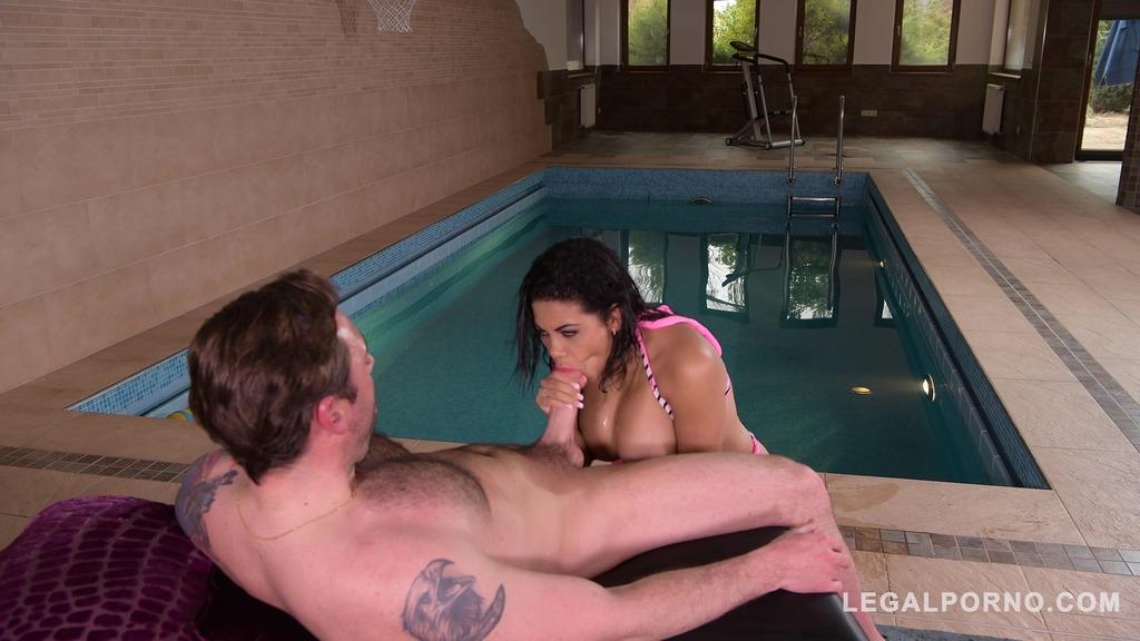 Busty Kesha Ortega gets her Shaved Pussy Fucked Hard