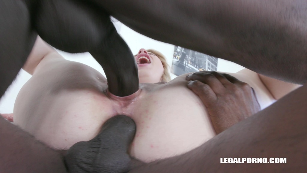 Kiara Night enjoys black feeling balls deep IV331