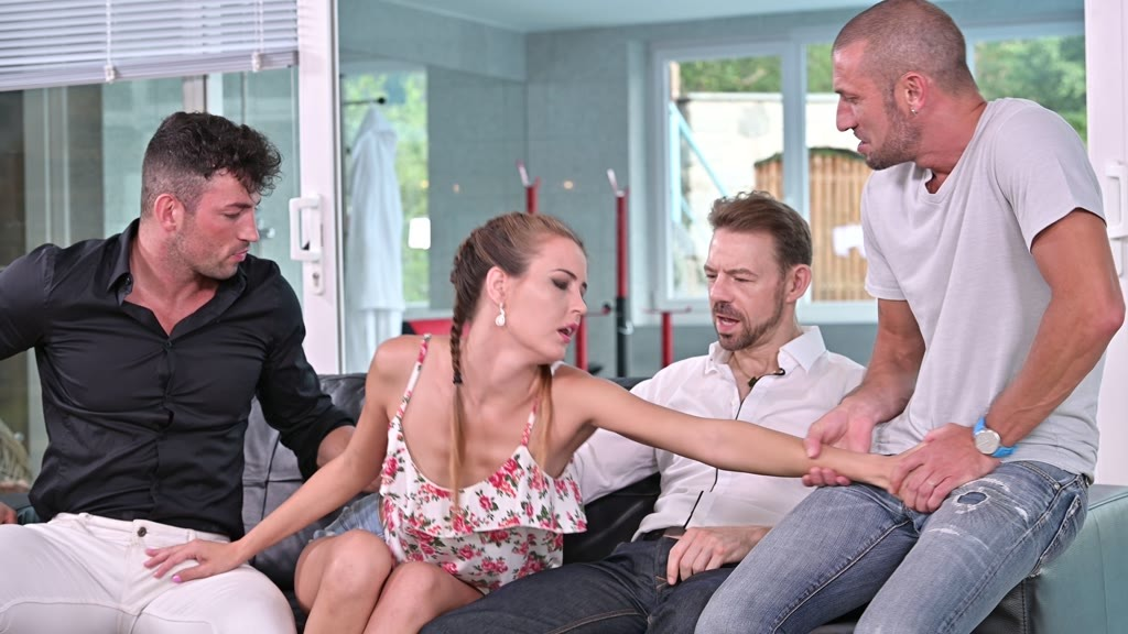 Cindy Shine on Remote Control for DP Foursome GP1709