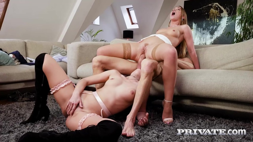 Alexis Crystal, Katy Rose and the Driver