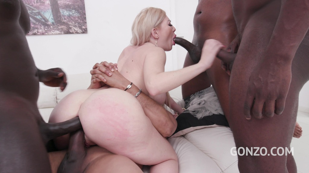 Isabella Clark interracial anal fucking with almost only DAP SZ2309