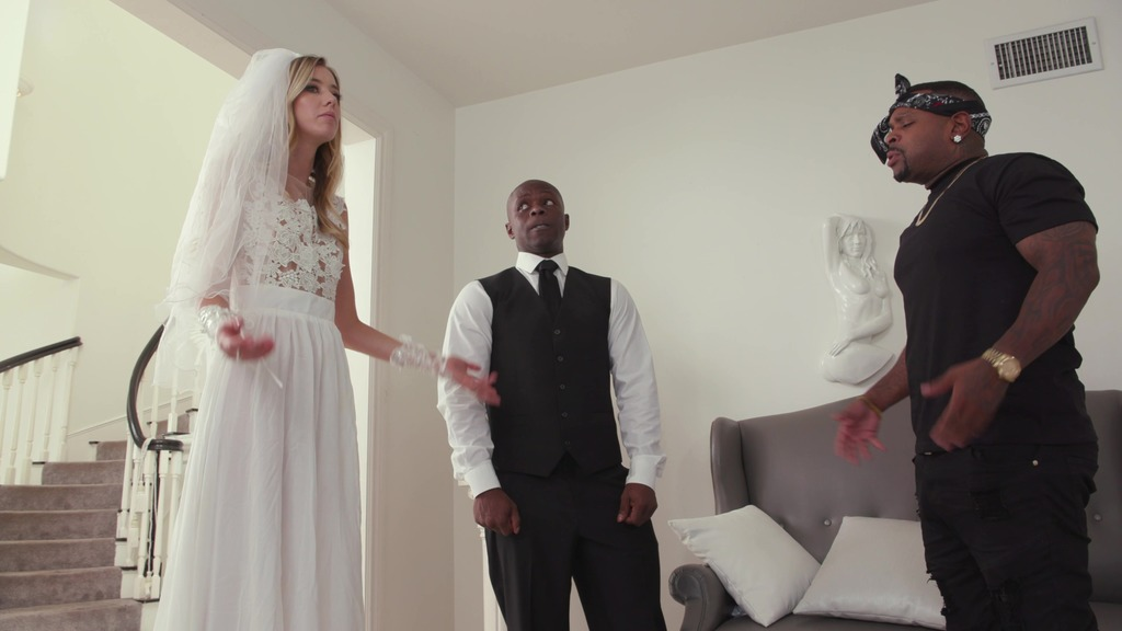 Haley Reed gets DP'ed by her lover and her future husband BIW016