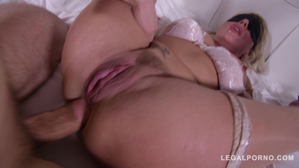 Horny Milf Brittany Bardot spanked & DP'ed during XXX domination threesome GP656