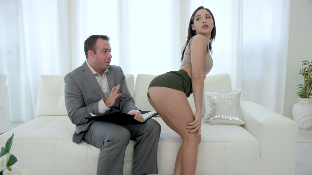 Anal sex fiend Abella Danger gets a rimming and ass fucking until a facial GP1448