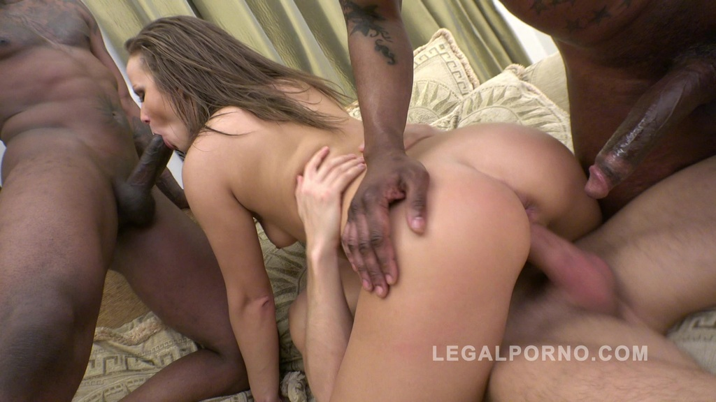 Sandra 3on1 anal stretching RS26