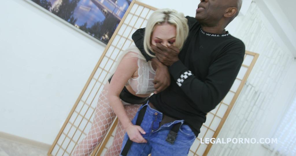 2on1 DP and DAP breaking with Louise Lee Short DAP, Intense DP, Manhandle,...