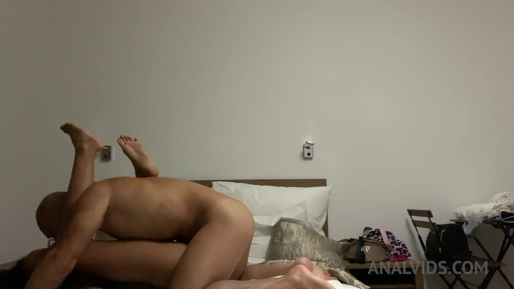 First time in the ass for Romy Indy OTS585