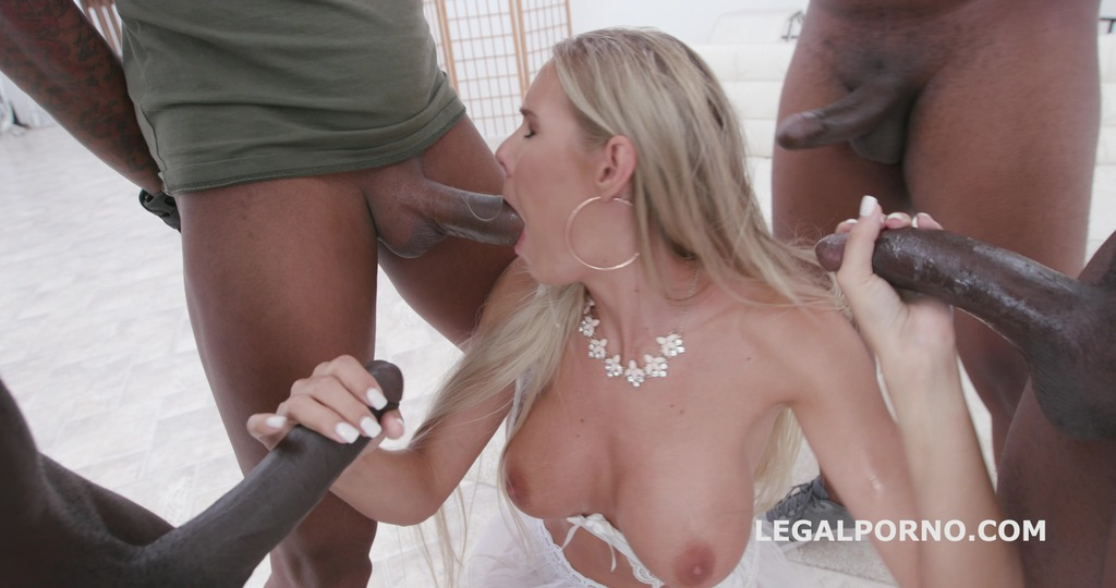 Waka Waka, Blacks are coming Florane Russell gets 4 BBC Balls Deep Anal,...