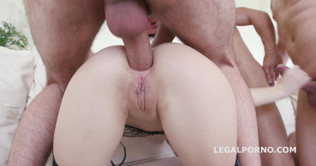 Ginger Fox 4on1 with TAP/ ATM/ DP/ DAP/ DAVP/ Ball_Deep_Action/ Big_Gapes/ 4swallow GIO211