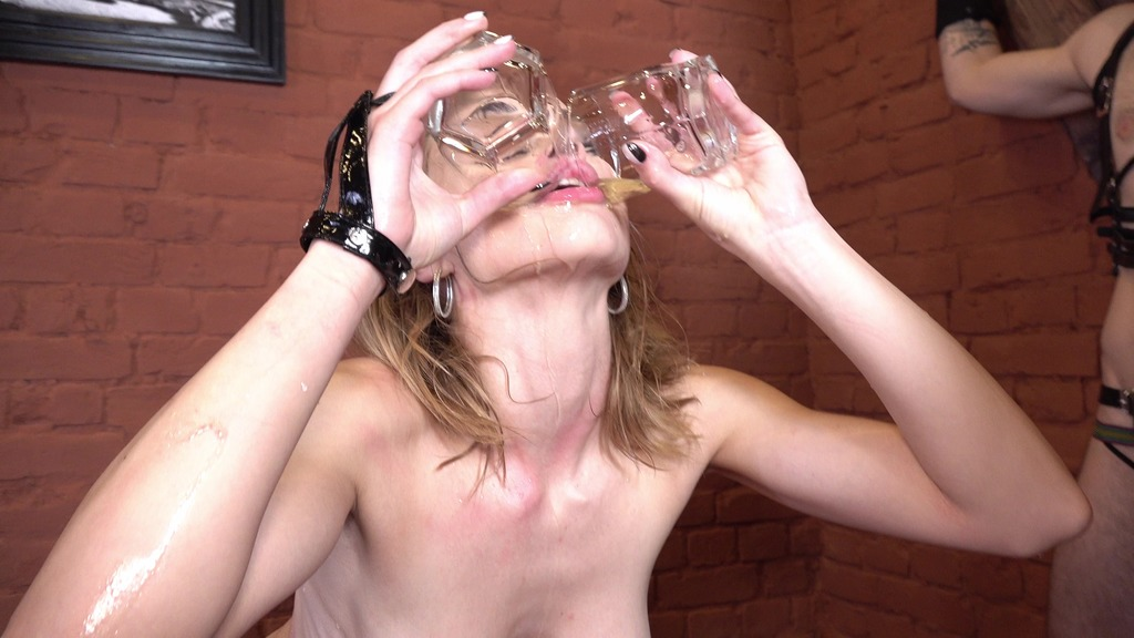 Mistress Loren Strawberry became a bondwoman who was punished and pissed! Fucked hard (Balls Deep, Piss drink) NRX056