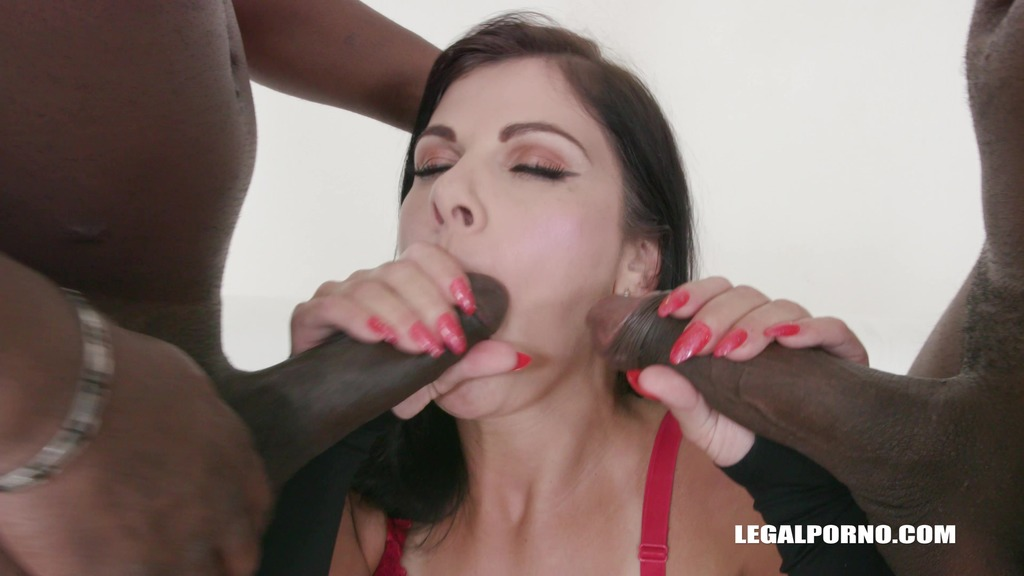 First black cock and first double anal for Janice United IV297