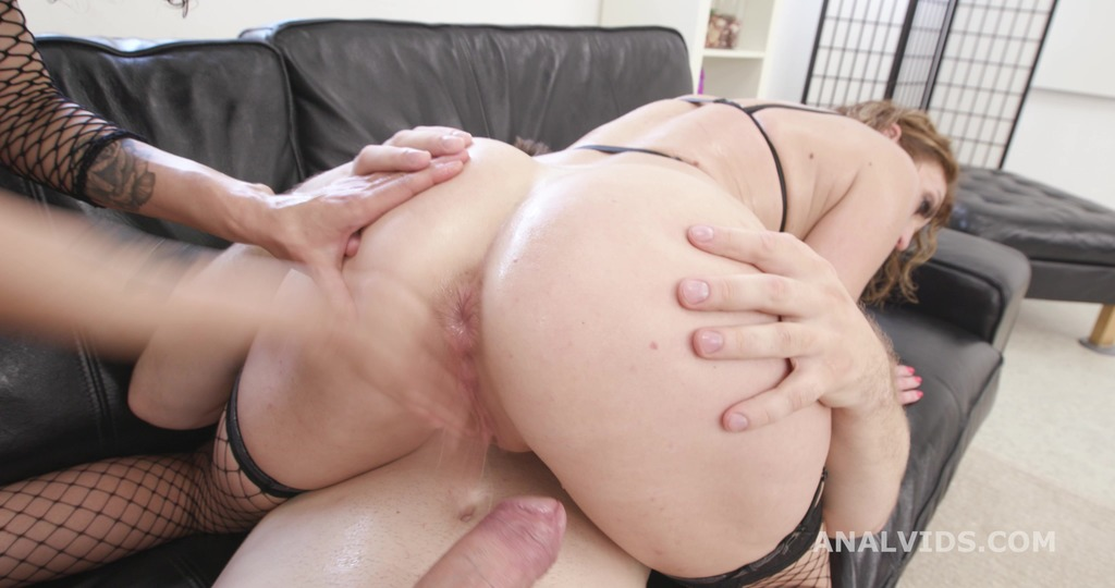 Stacy Bloom & Julia North DAP and Fist #1, Anal Fisting, DAP, Big Gapes, Prolapse, Creampie Swallow GIO1888
