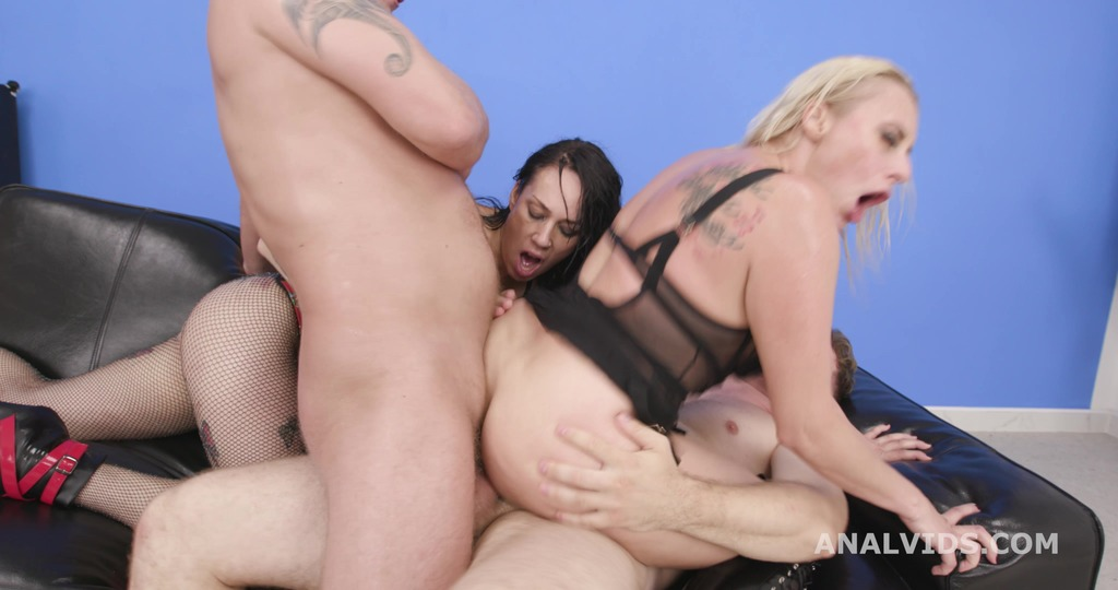 Adeline Lafouine & Brittany Bardot #1, 2on2, ATOGM, DAP, Fisting, Monster ButtRose, Squirt, Creampie Swallow GIO1893