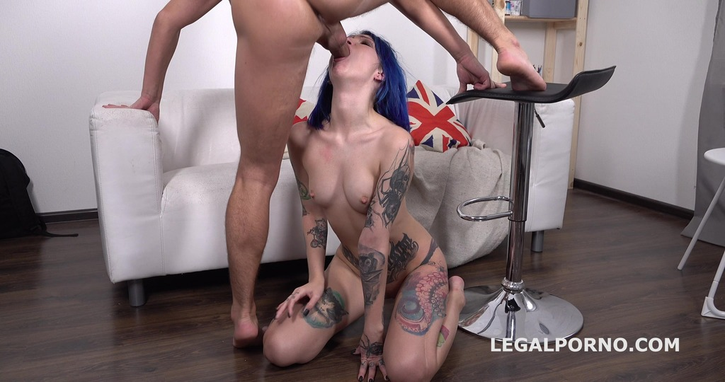 Russian Anal Casting Keoki Star Balls Deep Anal, Gapes, Cum in Mouth GL086