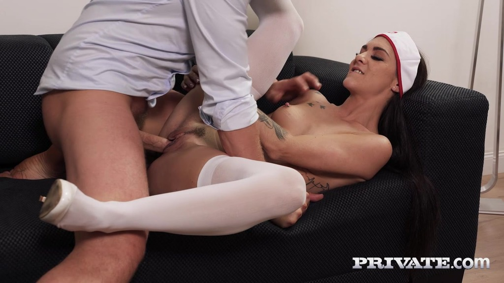 Lullu Gun, Hot Nurse Addicted to Anal