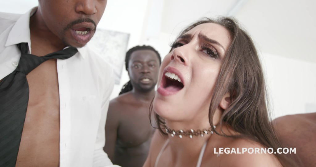 Lilly Hall gets 5 BBCs – Anal, DP, DAP & Gapes