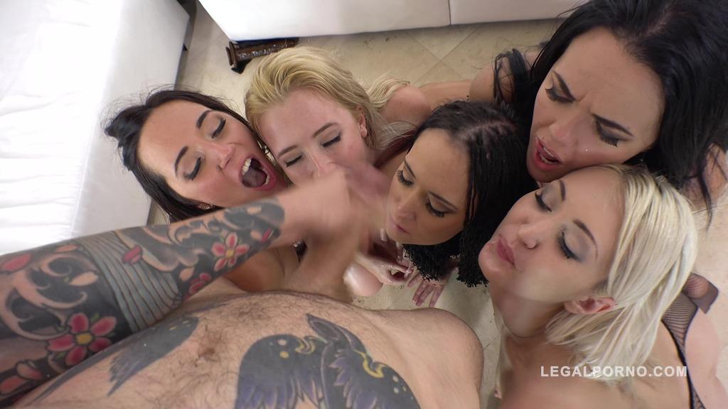 Sineplex orgy 5on5 with Samantha Rone, Angie Moon, Kerry Cherry, Jenn Stefani & Megan Moss RS263 (PART 2)