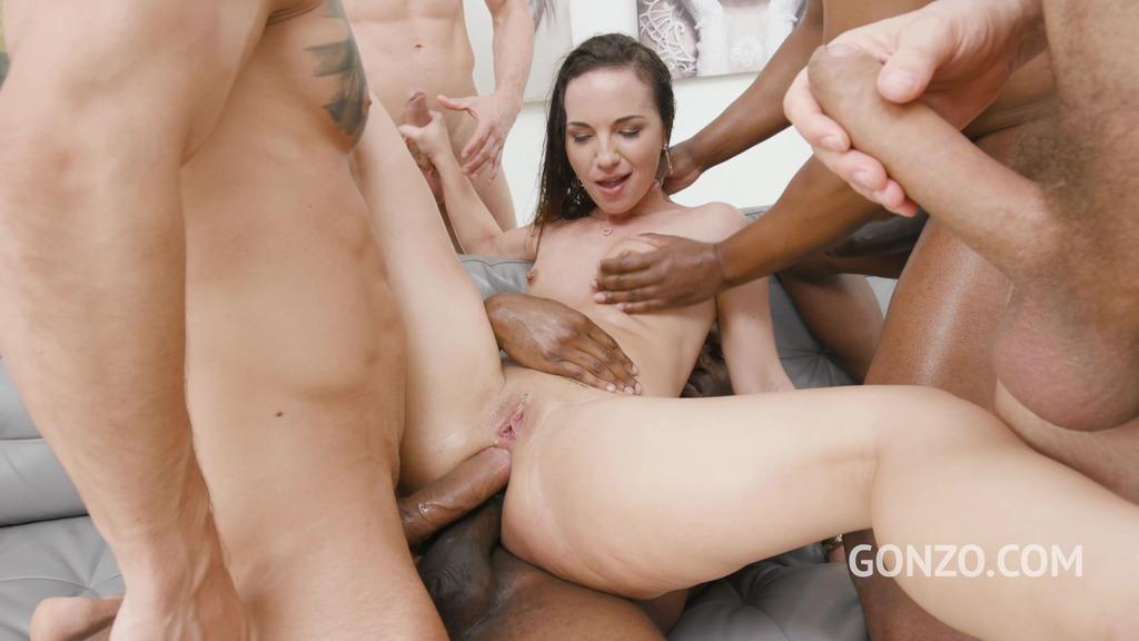 Kristy Black anal & DAP 4on1 with 0% Pussy fucking SZ2453