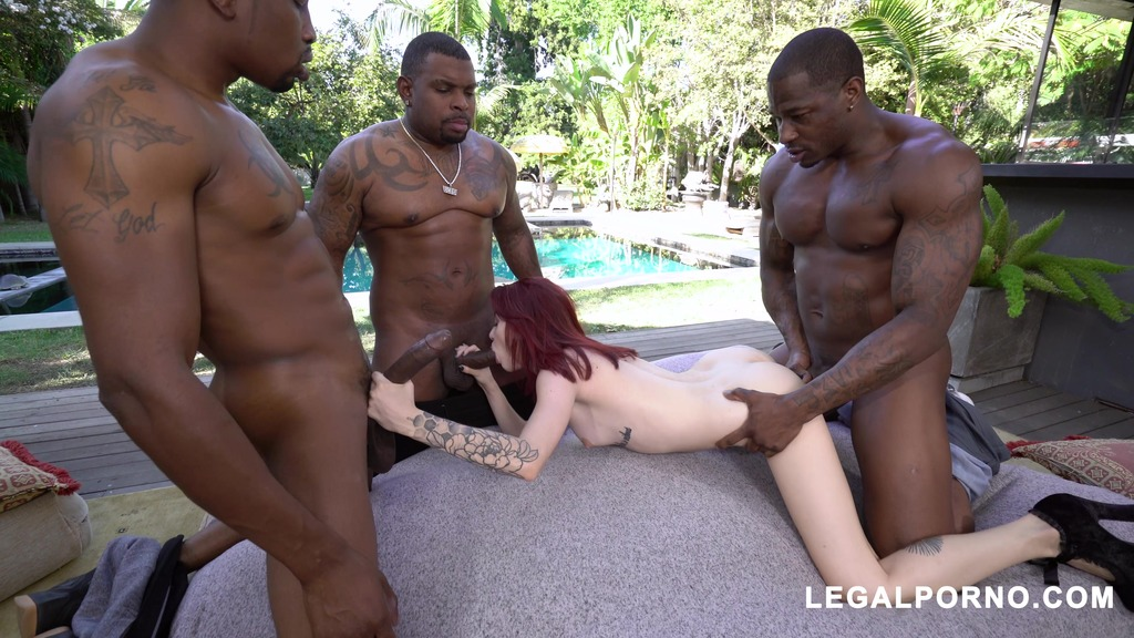 Lola Faye gets fucked with 3 BBC hard for her favorite studio AA050