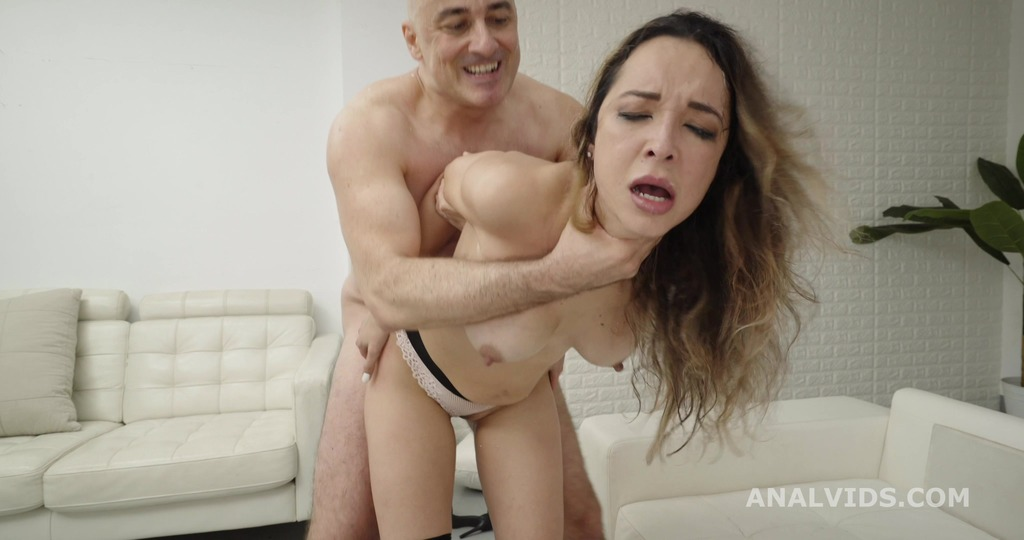 Francys Belle Balls Deep Anal, Big Gapes and Cum Swallow GL325