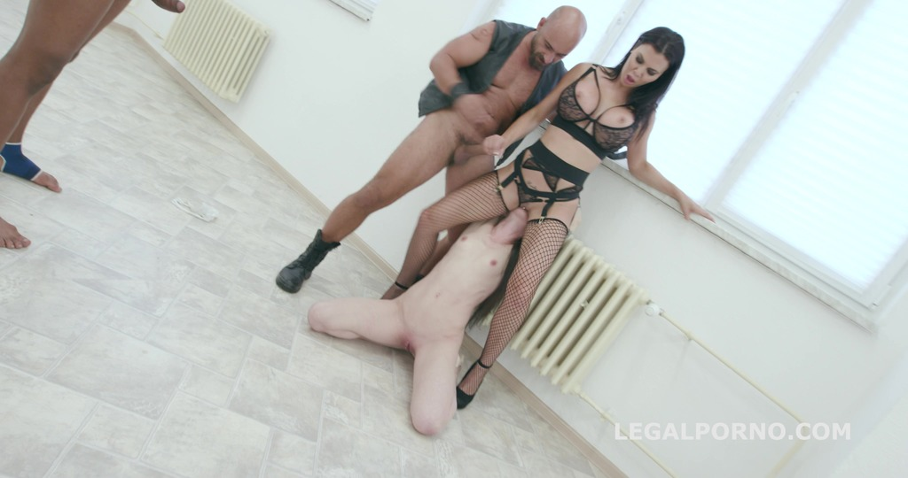 Limit overcoming Part#1 - Total abuse and degrading of Monika Wild by Jasmine Jae - Submission / Foot Fetish GIO434