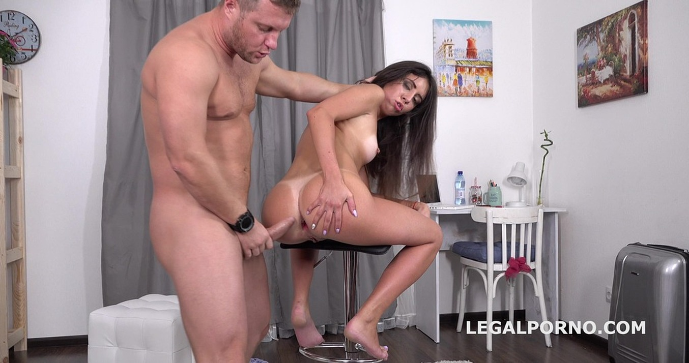 Katty West in Mr. Anderson's Anal Casting with Katty West, Balls Deep Anal, Rough Sex, Gapes, ATM, Cum in mouth GL065