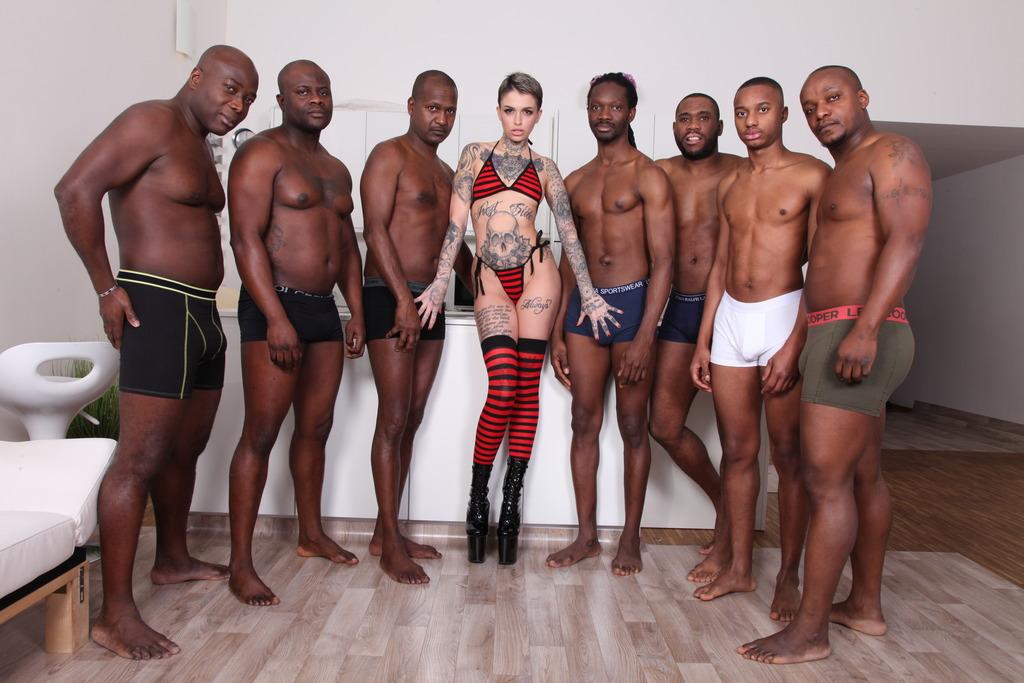 Black Cock Gangbang White Wife