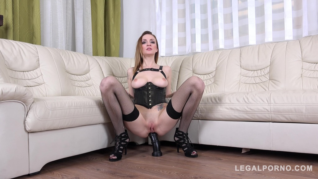 DAP and DP with Anal queen Belle Claire FM010