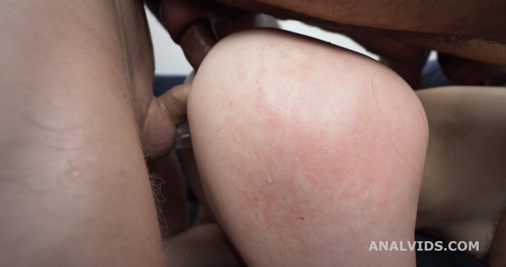 Kiara Gold 2on1 Balls Deep Anal, DP, DAP, Almost Buttrose and Cum in Mouth GL520