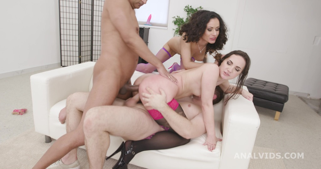 So Yummy #1 Kristy Black and Stacy Bloom 2on2 Balls Deep Anal, DAp, Gapes, ButtRose, Cumswapping with Swallow GIO1787