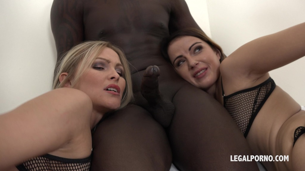 Cristina Tess & Samantha Joons - those two bitches have real passion for big black cock IV044