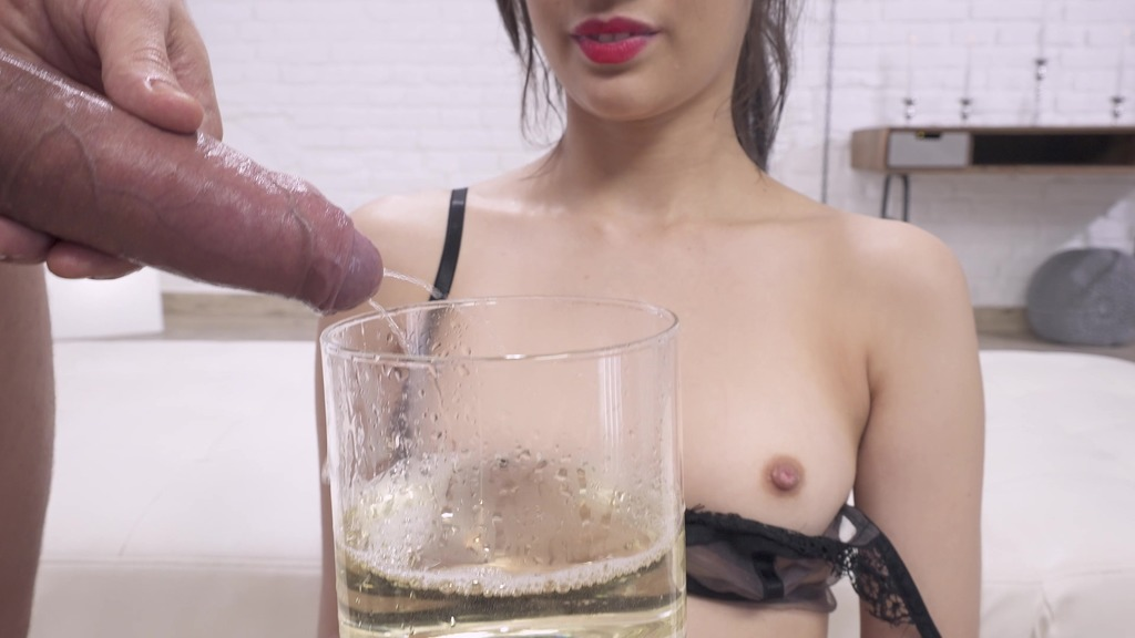 Emily Pink will never get enough 3 on 1 super thirsty, balls deep (with piss) AF011