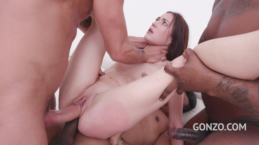 Mina K Medina assfucked and DPed